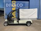 Gebraucht D-LINE DV-2XG Elektro 48 Volt Golfcar mit Kabine