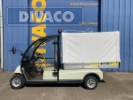 Vorführer D-LINE DV-2XG Elektro 48 Volt Golfcar mit Kabine